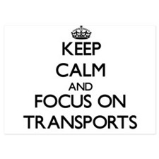 Keep Calm by focusing on Transports Invitations