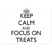 Keep Calm by focusing on Treats Invitations