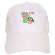 Georgia Peach Baseball Baseball Cap