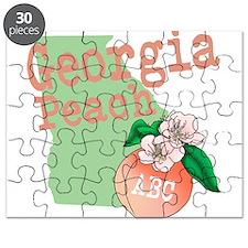 Georgia Peach Puzzle