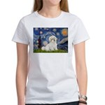 Starry / Coton de Tulear (#7) Women's T-Shirt
