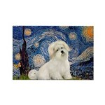 Starry / Coton de Tulear (#7) Rectangle Magnet (10