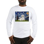 Starry / Coton de Tulear (#7) Long Sleeve T-Shirt