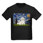 Starry / Coton de Tulear (#7) Kids Dark T-Shirt