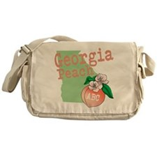 Georgia Peach Messenger Bag
