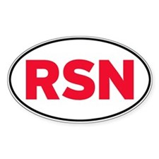 RSN Oval Decal