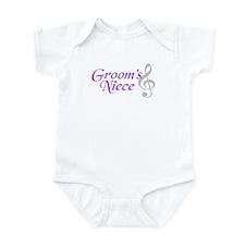 Groom's Niece(clef) Infant Bodysuit