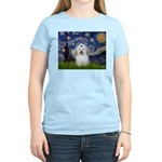 Starry Night Coton de Tulear Women's Light T-Shirt