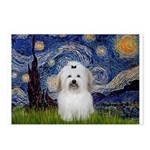 Starry Night Coton de Tulear Postcards (Package of