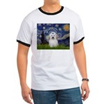 Starry Night Coton de Tulear Ringer T