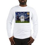 Starry Night Coton de Tulear Long Sleeve T-Shirt