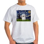 Starry Night Coton de Tulear Light T-Shirt