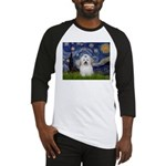 Starry Night Coton de Tulear Baseball Jersey