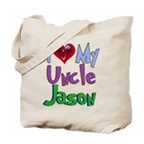 I LOVE MY UNCLE...CUSTOMIZED Tote Bag