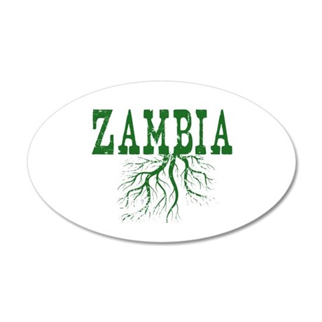 Zambia Roots 20x12 Oval Wall Decal