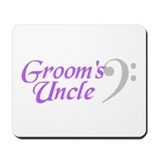 Groom's Uncle(clef) Mousepad
