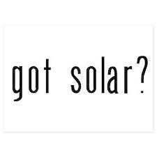got solar black Invitations
