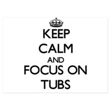 Keep Calm by focusing on Tubs Invitations