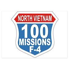 100 Missions F-4 Invitations