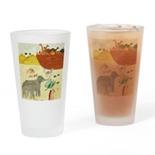 boarding the ark Drinking Glass