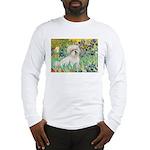 Irises / Coton Long Sleeve T-Shirt