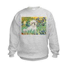 Irises / Coton Kids Sweatshirt