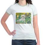 Irises / Coton Jr. Ringer T-Shirt