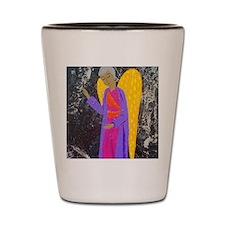 angel blessing Shot Glass