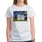 Starry / Coton Pair Women's T-Shirt