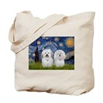 Starry / Coton Pair Tote Bag