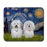 Starry / Coton Pair Mousepad