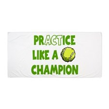 PRACTICE TENNIS Beach Towel