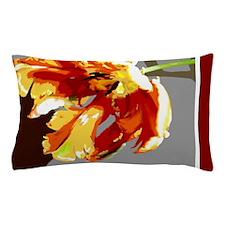 Parrot tulip Pillow Case
