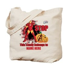 Personalized Halloween Iron Man Tote Bag
