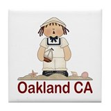 Oakland Sailor Tile Coaster