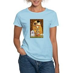 The Kiss / Coton Women's Light T-Shirt