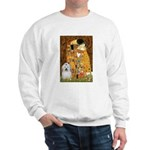 The Kiss / Coton Sweatshirt
