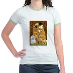 The Kiss / Coton Jr. Ringer T-Shirt