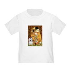 The Kiss / Coton Toddler T-Shirt