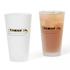 Monorail Yellow Drinking Glass