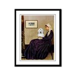 Mom's Coton Framed Panel Print