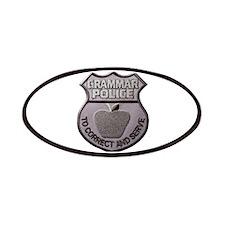 Grammar Police Patches