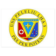 US Navy USS Peleliu LHA 5 Invitations