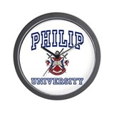 PHILIP University Wall Clock