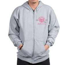 Pink Personalized Junior SHIELD Agent Zip Hoodie