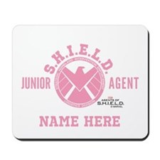 Pink Personalized Junior SHIELD Agent Mousepad