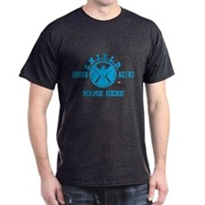 Blue Personalized Junior SHIELD Agent T-Shirt
