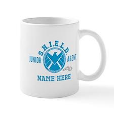 Blue Personalized Junior SHIELD Agent Mug