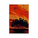 Sunset Rectangle Magnet (10 pack)