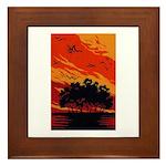 Sunset Framed Tile